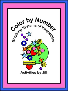 Graphing Systems of Inequalities Color by Number