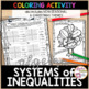 Graphing Systems of Inequalities Thanksgiving Activity