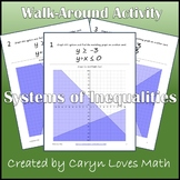 Graphing Systems of Linear Inequalities~Walk Around Activi