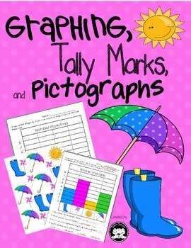 Graphing, Tally Marks and Pictographs for Spring