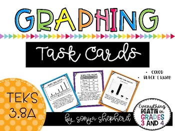 Graphing Task Card Scoot