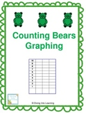 Graphing Up To 10- Counting Bears Theme