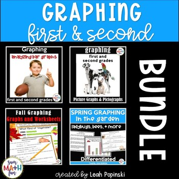 Graphing With First and Second Grades Bundled!