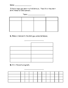 Graphing Worksheet
