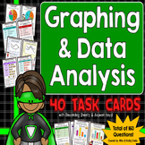 Graphing and Data Analysis Task Cards {Interpreting Graphs