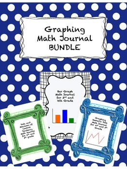Graphing and Data Math Journal BUNDLE