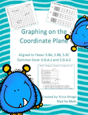 Graphing the Coordinate Plane Sheets 5.8A, 5.8B, 5.8C, 5.G