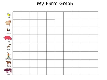 Graphing on the Farm in Kid Pix