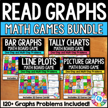 3rd Grade Graphs Activities: Graphs Games for Line Plots,