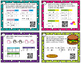 Graphs and T-Charts word problems - TEK 1.8a-c CC MD4 - wi