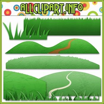 Grass Elements Clip Art