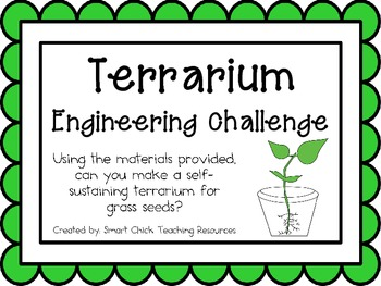 Grass Seed Terrariums: Engineering Challenge Project ~ Gre