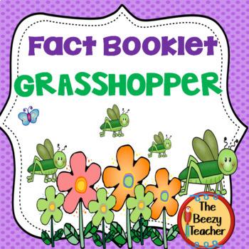 Grasshopper Facts Booklet