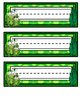 Grasshopper Name Tags - Printable Name Tags