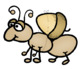 Grasshopper and Ant Fable Clip Art - Whimsy Workshop Teaching