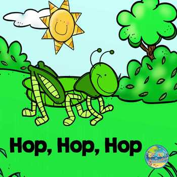 Grasshoppers Hop and Count to 10