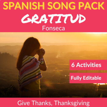Gratitud by Fonseca: Spanish Song to Practice Listening Co