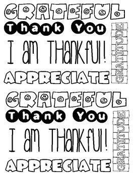 Gratitude Journal- Stay Thankful!