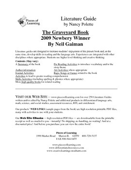 Graveyard Book Literature Guide