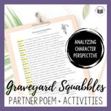 """Graveyard Squabbles"" {A Seasonal Partner Poem}"