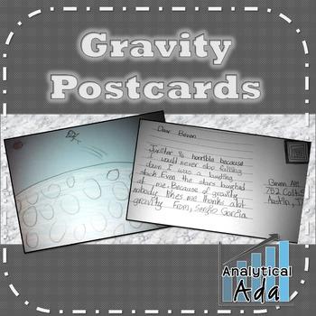 Gravity Postcards