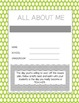 Gray & Lime Green Chic Planner/Binder