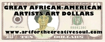 Great African-American Artists Art Dollars