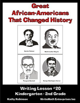 Writing About Great African-Americans - 5 Days of Writing