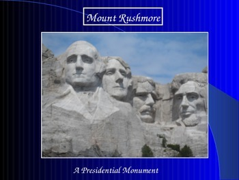 Great American PowerPoint Series-Mount Rushmore/Presidents