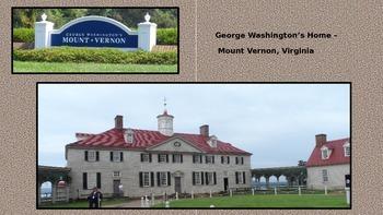 George Washington's Home, Mount Vernon, Virginia