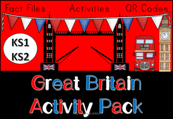 Great Britain Activity Pack