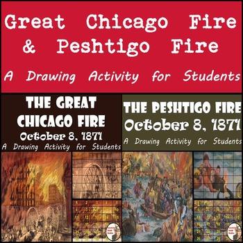 Great Chicago Fire & Peshtigo Fire - October 8, 1871 - Pai