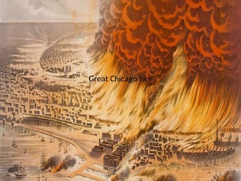 Great Chicago Fire - Power Point Information History Facts