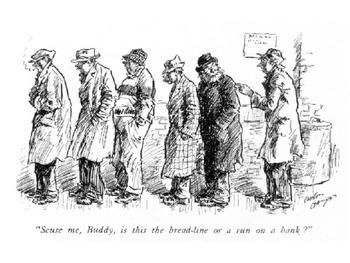 Great Depression 1930's Political Cartoon Analysis