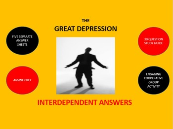 Great Depression: Interdependent Answer Sheets