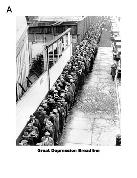 Great Depression Photo Gallery