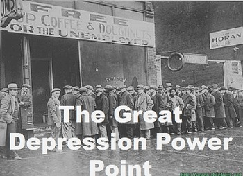Great Depression Power Point