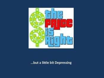 "Great Depression ""Price is Right"""
