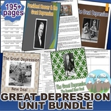 Great Depression Unit / Great Depression *Unit Bundle* (U.