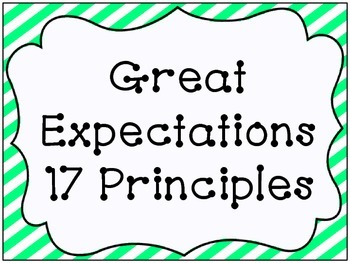 Great Expectations 17 Life Principles