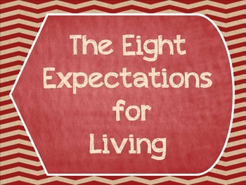Great Expectations- The Eight Expectations For Living Post