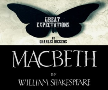 Great Expectations and Macbeth Unit - 28 Lessons, PPT, Res