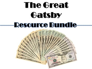 Great Gatsby Bundle: Blog, Gallery Walk, & Thematic Chart