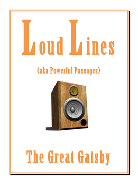 Great Gatsby LOUD LINES