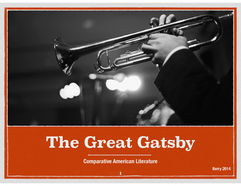 Great Gatsby Overview Notes Slides