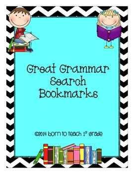 Great Grammar Search Bookmarks: Applying Grammar Skills to