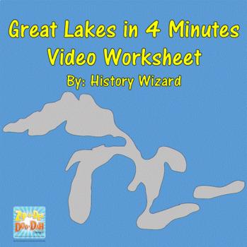 Great Lakes in 4 Minutes Video Worksheet
