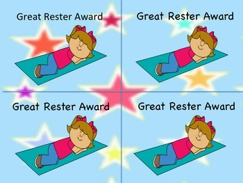 Great Rester Awards