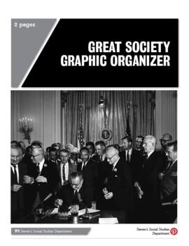 Great Society Graphic Organizer