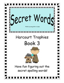Harcourt Trophies FIRST GRADE (Book 3): Great Spelling Act